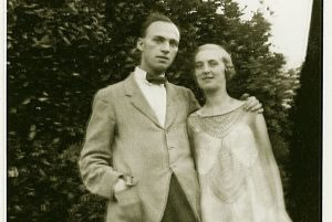 G.B. Edwards and wife Kathleen, circa 1925
